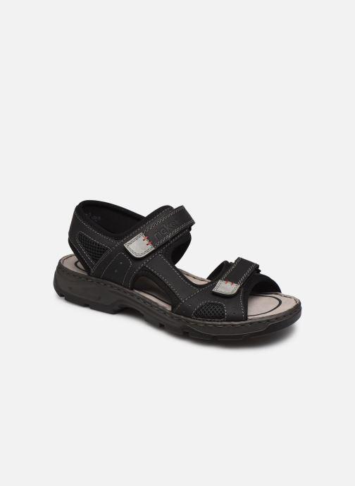 Sandales et nu-pieds Rieker Eryk Noir vue détail/paire