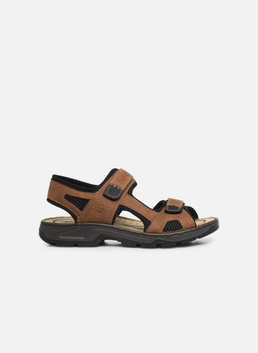 Sandales et nu-pieds Rieker Eryk Marron vue derrière
