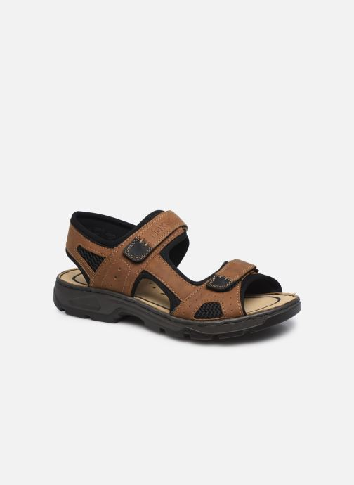 Sandales et nu-pieds Rieker Eryk Marron vue détail/paire