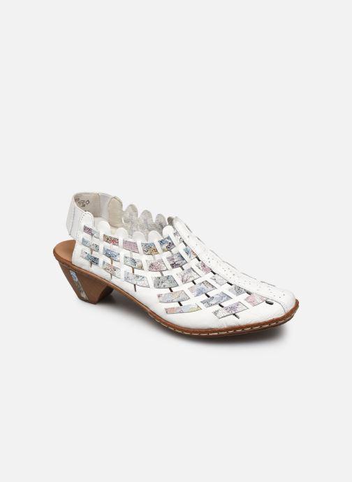 Sandales et nu-pieds Rieker Opaline Multicolore vue détail/paire