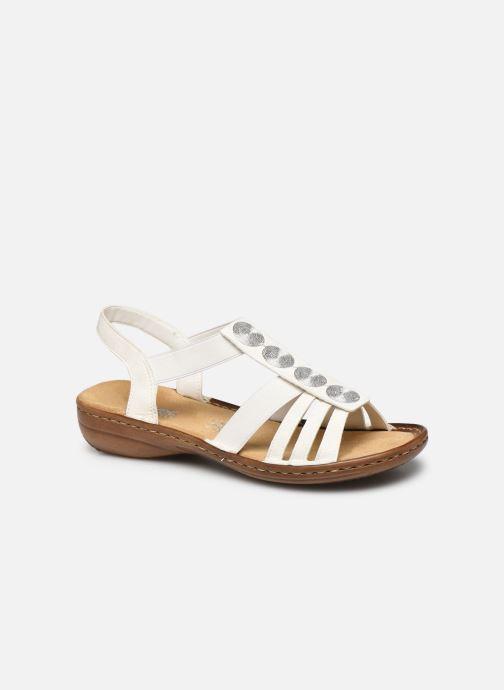 Sandales et nu-pieds Rieker Amrita Blanc vue détail/paire