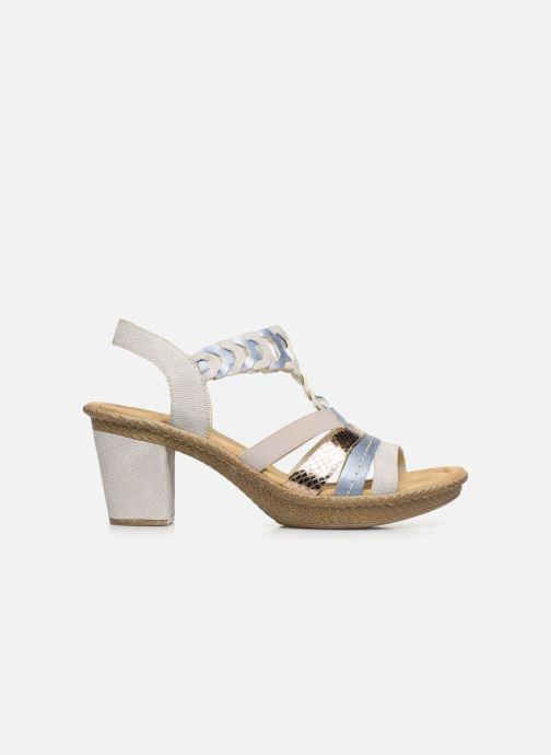 Sandales et nu-pieds Rieker Manon Gris vue derrière