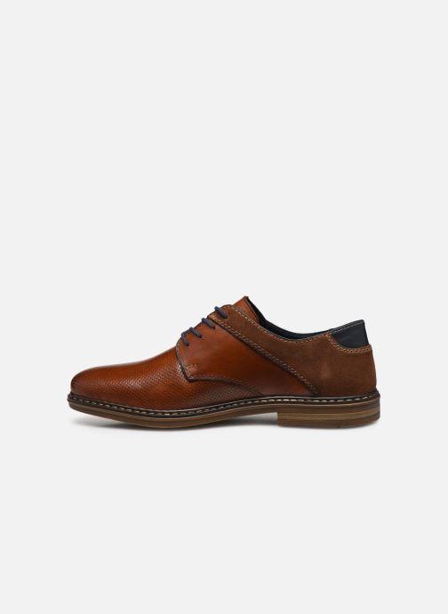 Chaussures à lacets Rieker Karol Marron vue face