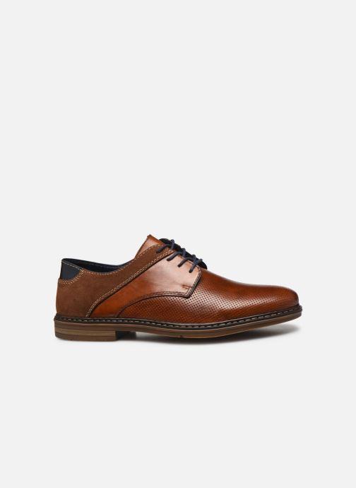 Chaussures à lacets Rieker Karol Marron vue derrière