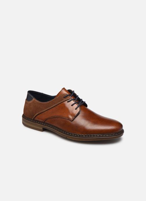 Chaussures à lacets Rieker Karol Marron vue détail/paire