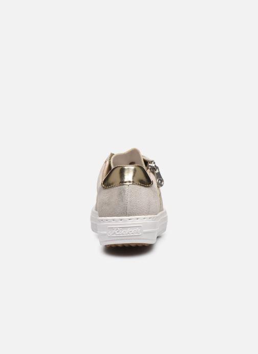 Rieker Loui Sneakers 1 Guld og bronze