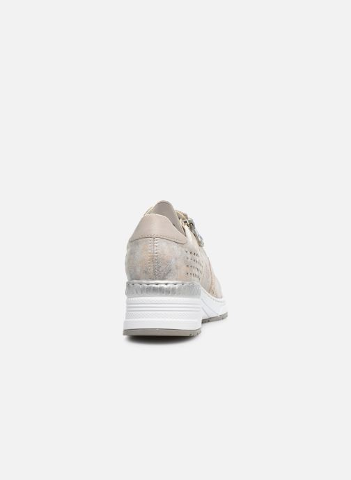 Sneakers Rieker Arun Roze rechts