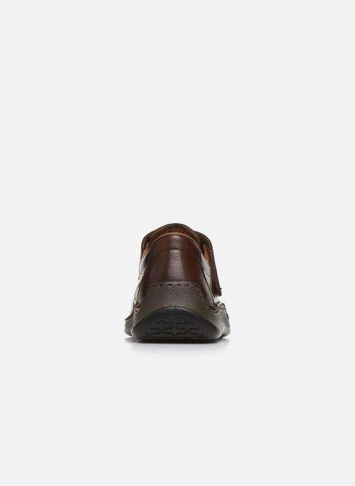 Sandales et nu-pieds Rieker Franciszek Marron vue droite