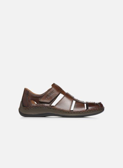 Sandales et nu-pieds Rieker Iwan Marron vue derrière