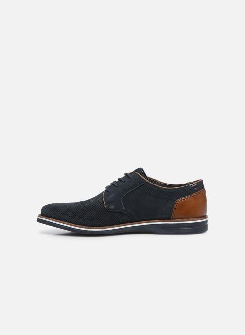 Zapatos con cordones Rieker Kamil Azul vista de frente