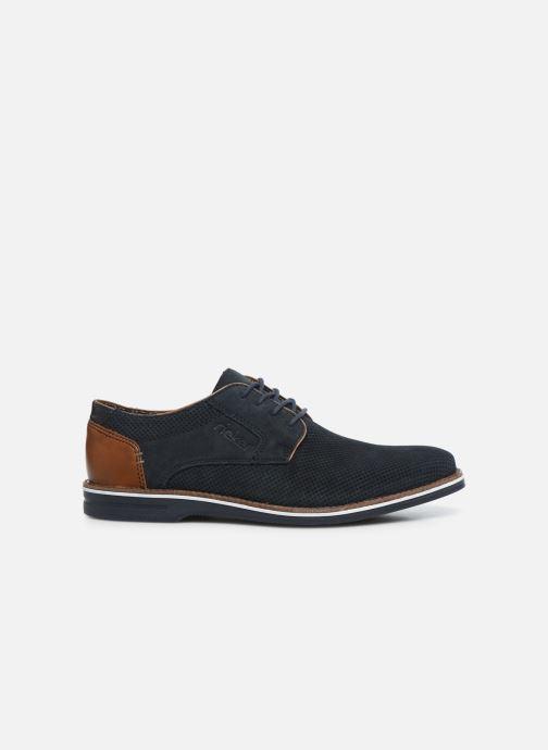 Chaussures à lacets Rieker Kamil Bleu vue derrière