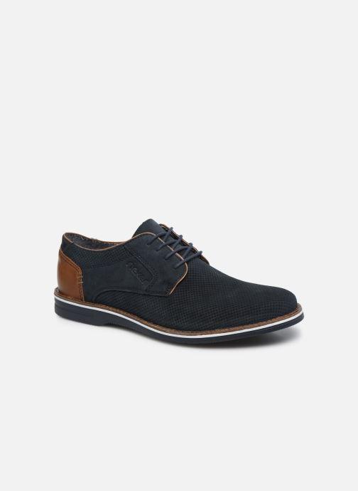 Zapatos con cordones Rieker Kamil Azul vista de detalle / par