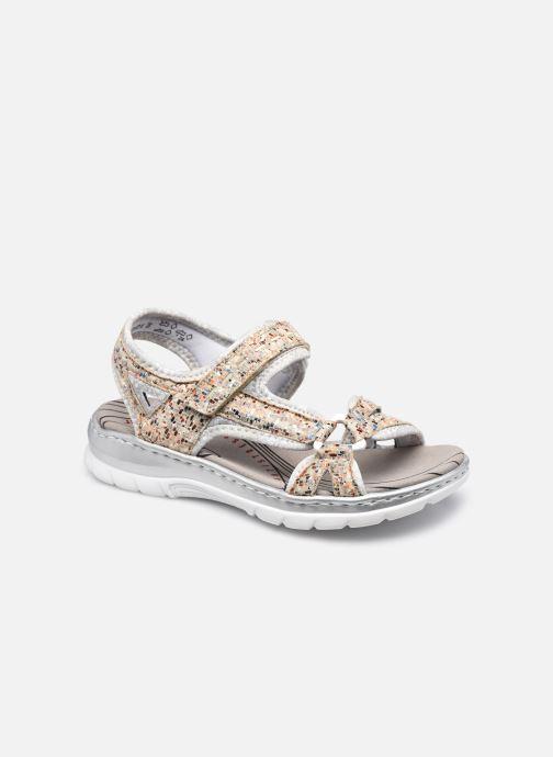 Sandali e scarpe aperte Rieker Joshua Argento vedi dettaglio/paio