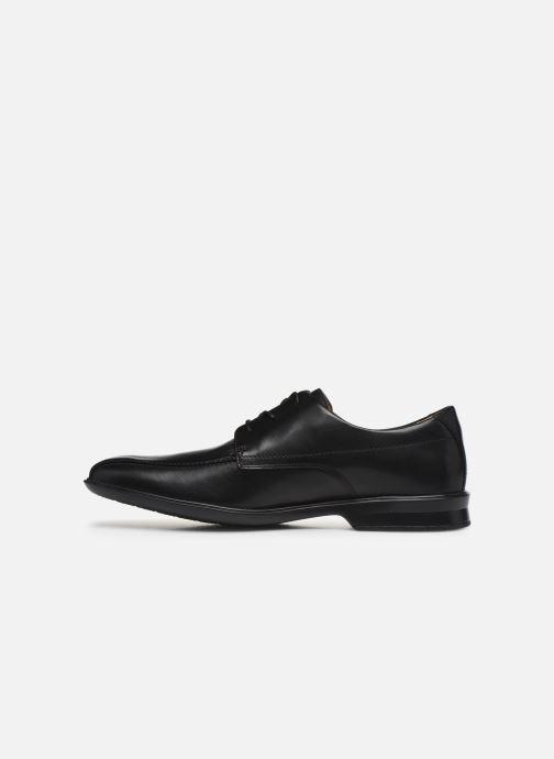 Chaussures à lacets Clarks Goya Band M Noir vue face