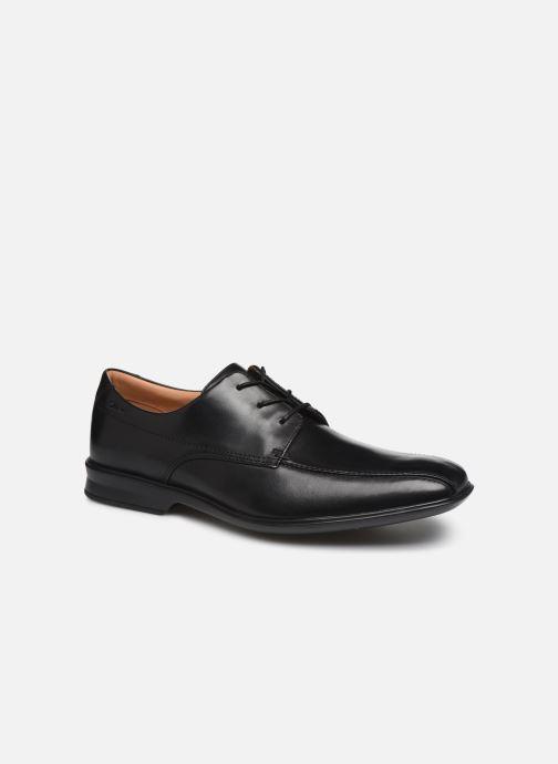 Chaussures à lacets Clarks Goya Band M Noir vue détail/paire