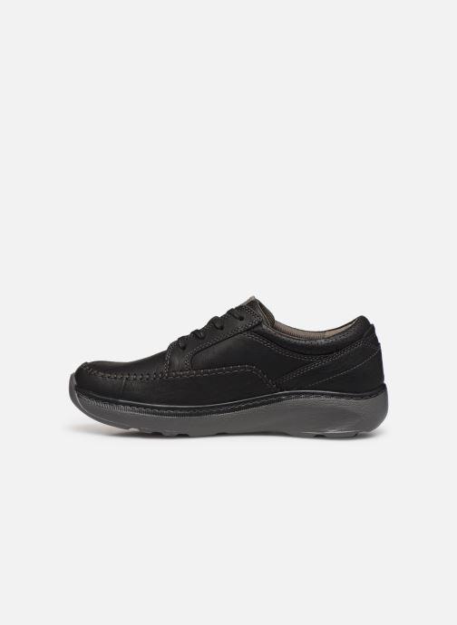 Zapatos con cordones Clarks Charton Vibe Negro vista de frente