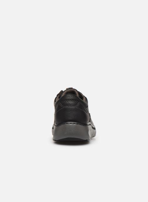 Zapatos con cordones Clarks Charton Vibe Negro vista lateral derecha