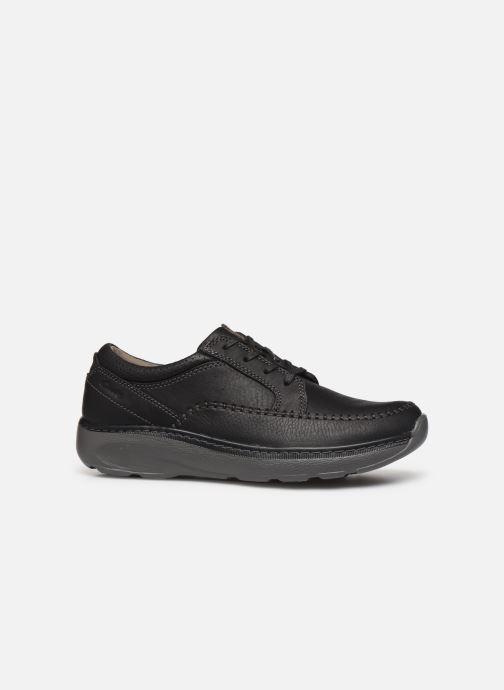 Zapatos con cordones Clarks Charton Vibe Negro vistra trasera