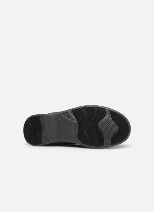 Zapatos con cordones Clarks Charton Vibe Negro vista de arriba