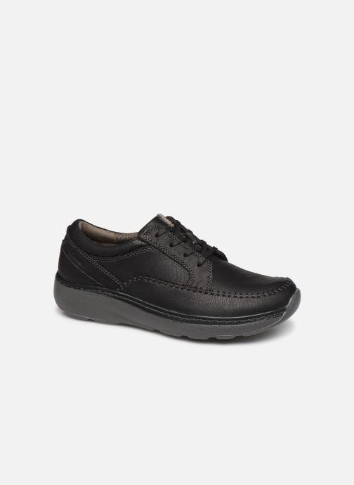 Zapatos con cordones Clarks Charton Vibe Negro vista de detalle / par