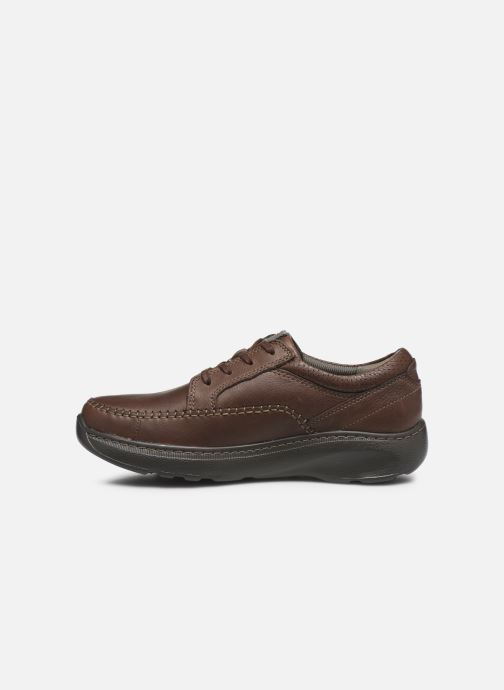 Zapatos con cordones Clarks Charton Vibe Marrón vista de frente