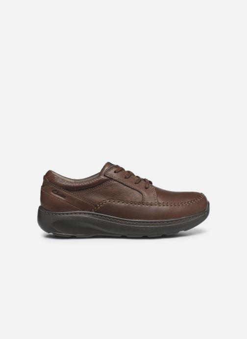 Zapatos con cordones Clarks Charton Vibe Marrón vistra trasera