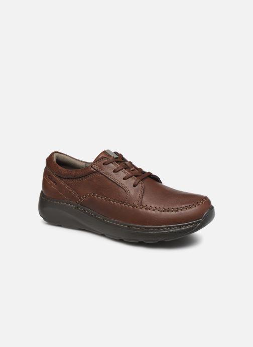 Zapatos con cordones Clarks Charton Vibe Marrón vista de detalle / par