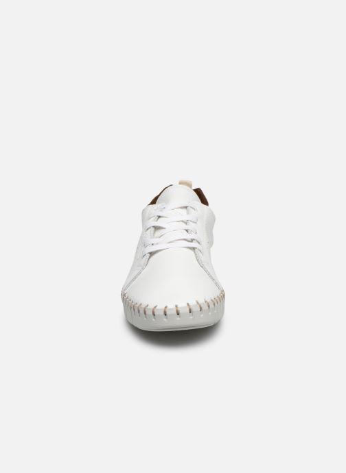 Baskets Georgia Rose Soft Colena Blanc vue portées chaussures