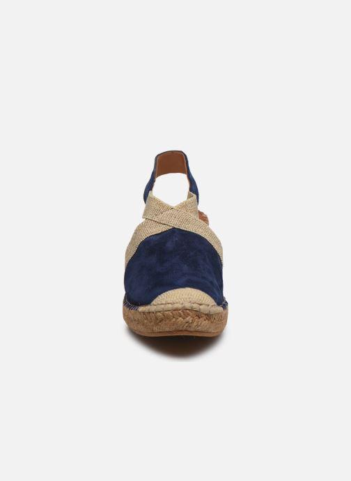 Espadrilles Georgia Rose Soft Coloupi Bleu vue portées chaussures