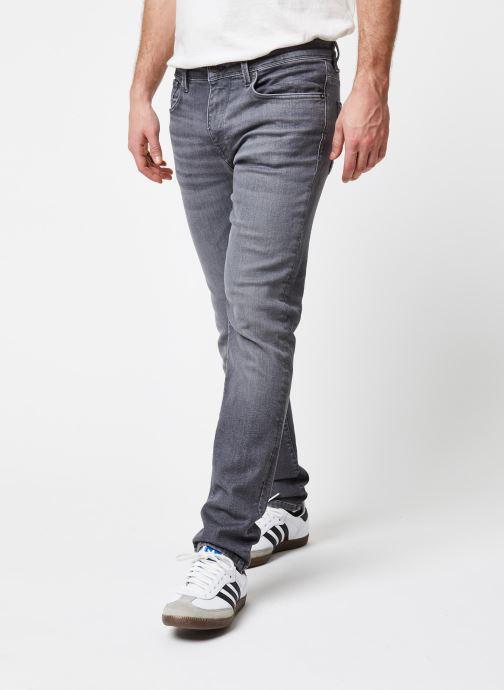 Vêtements Selected Homme Slhslim Leon Gris vue détail/paire