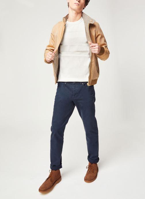 Vêtements Selected Homme Slhslim Leon Bleu vue bas / vue portée sac