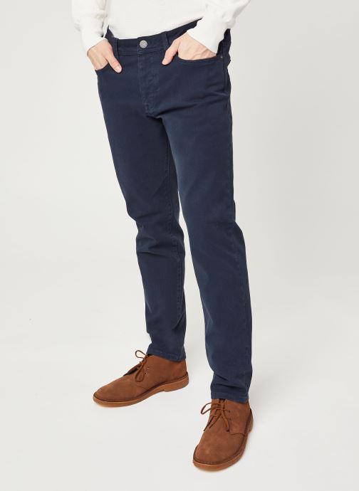 Vêtements Selected Homme Slhslim Leon Bleu vue détail/paire