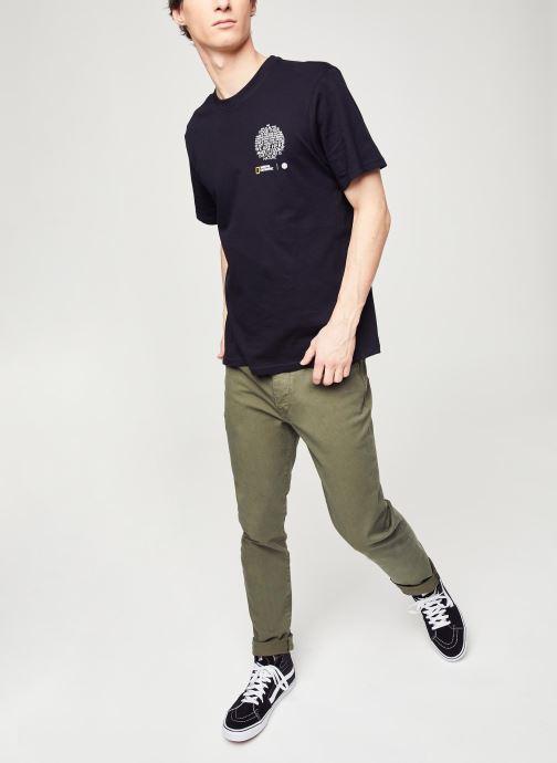 Vêtements Selected Homme Slhslim Leon Vert vue bas / vue portée sac