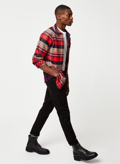 Vêtements Selected Homme Slhslimtape Toby Noir vue bas / vue portée sac