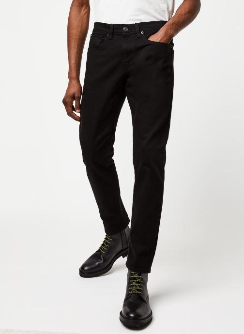 Vêtements Selected Homme Slhslimtape Toby Noir vue détail/paire