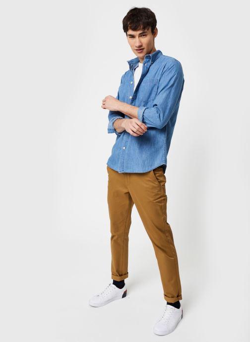 Vêtements Selected Homme Slhregperfect Larson Bleu vue bas / vue portée sac