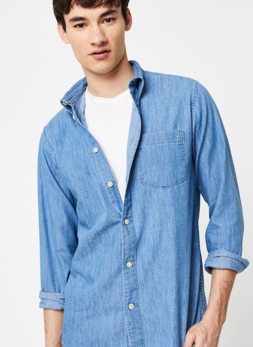 Vêtements Selected Homme Slhregperfect Larson Bleu vue détail/paire