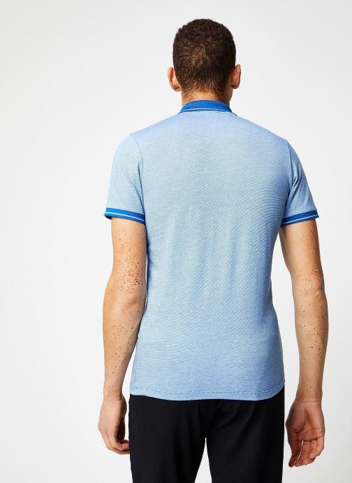 Vêtements Selected Homme Slhjoe Polo Bleu vue portées chaussures