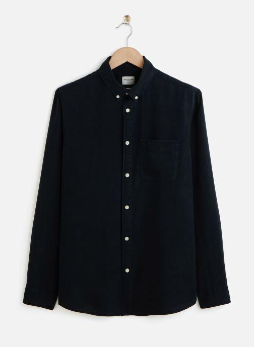 Vêtements Selected Homme Slhslimpastel Shirt Bleu vue détail/paire