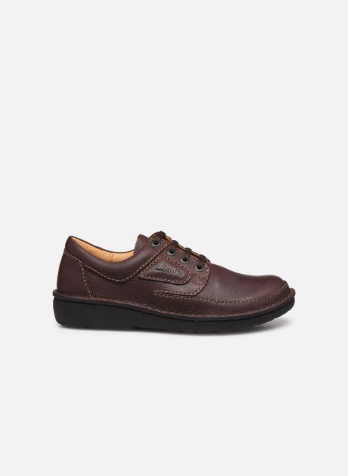 Chaussures à lacets Clarks Unstructured Nature II Marron vue derrière