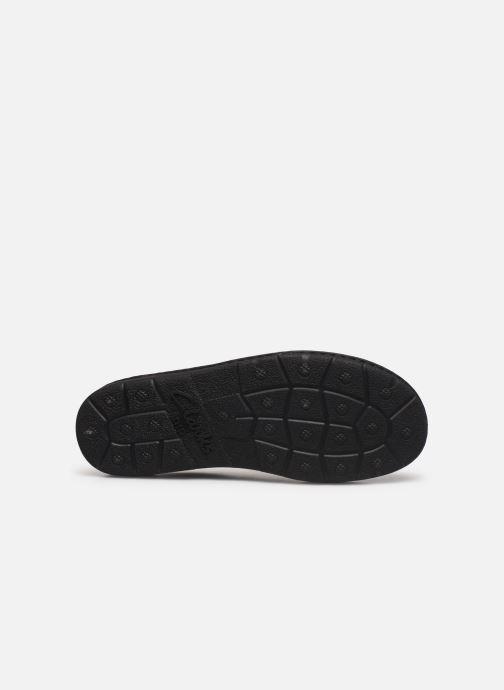 Chaussures à lacets Clarks Unstructured Nature II Marron vue haut