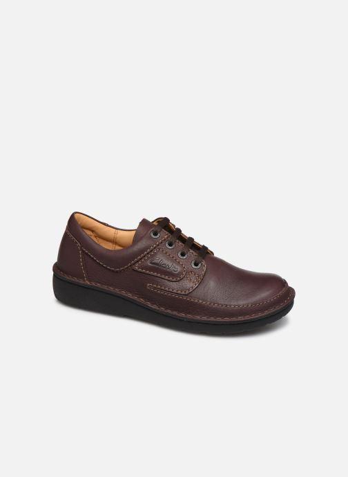 Chaussures à lacets Clarks Unstructured Nature II Marron vue détail/paire