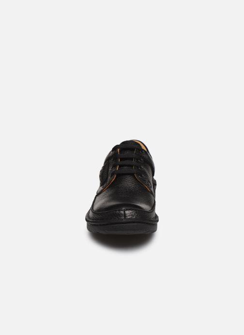 Chaussures à lacets Clarks Unstructured Nature II Noir vue portées chaussures