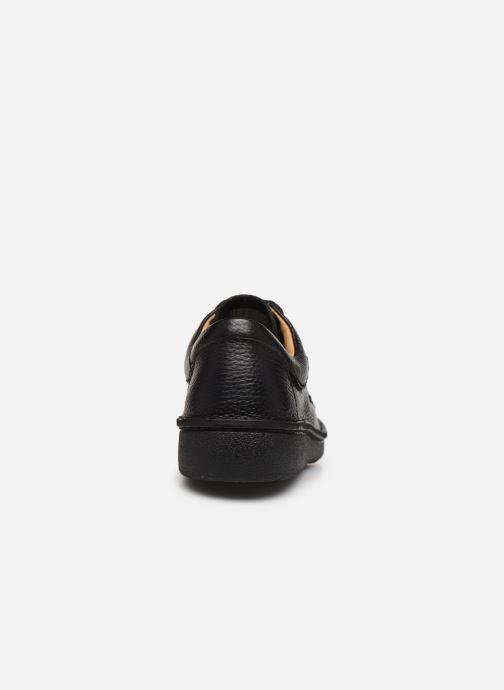 Chaussures à lacets Clarks Unstructured Nature II Noir vue droite