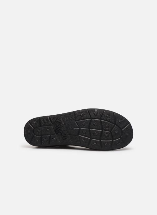 Chaussures à lacets Clarks Unstructured Nature II Noir vue haut