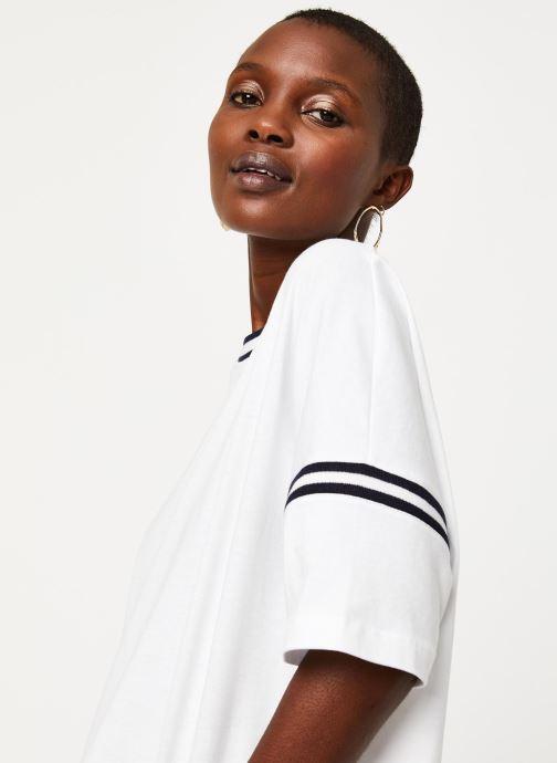 Vêtements Aigle Canut Blanc vue face