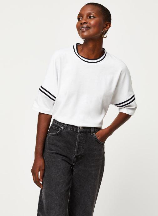 Vêtements Aigle Canut Blanc vue détail/paire