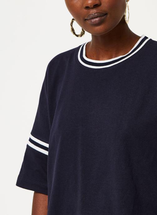 Vêtements Aigle Canut Bleu vue face