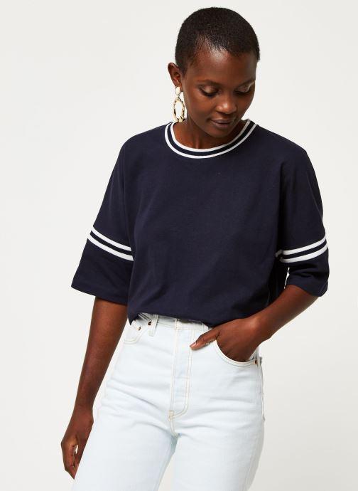 Vêtements Aigle Canut Bleu vue droite