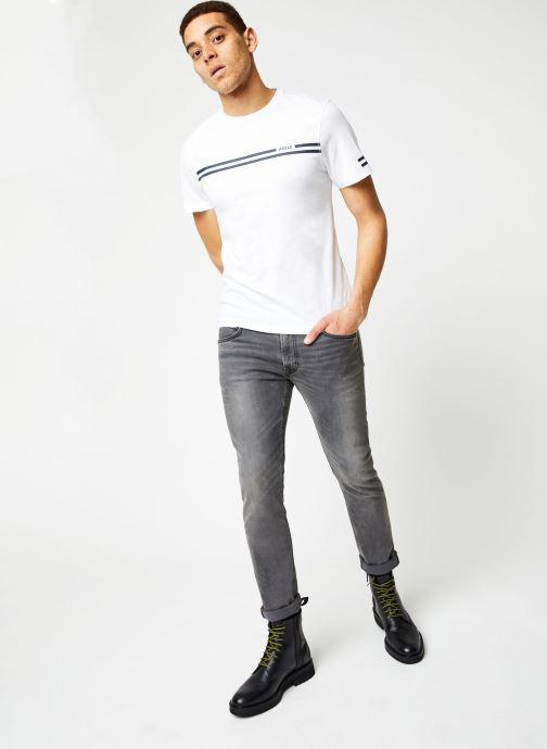 Vêtements Aigle Narendo Blanc vue bas / vue portée sac